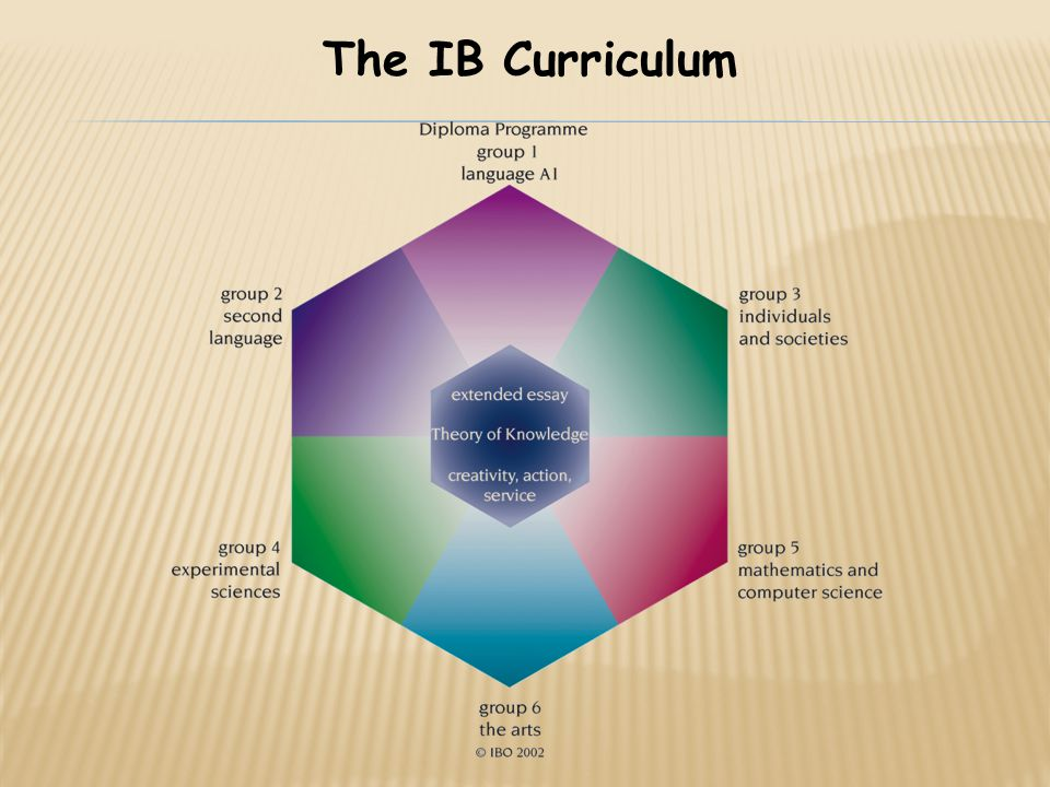 The IB Curriculum