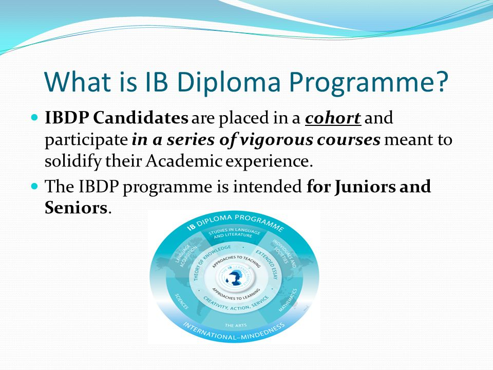What is IB Diploma Programme.