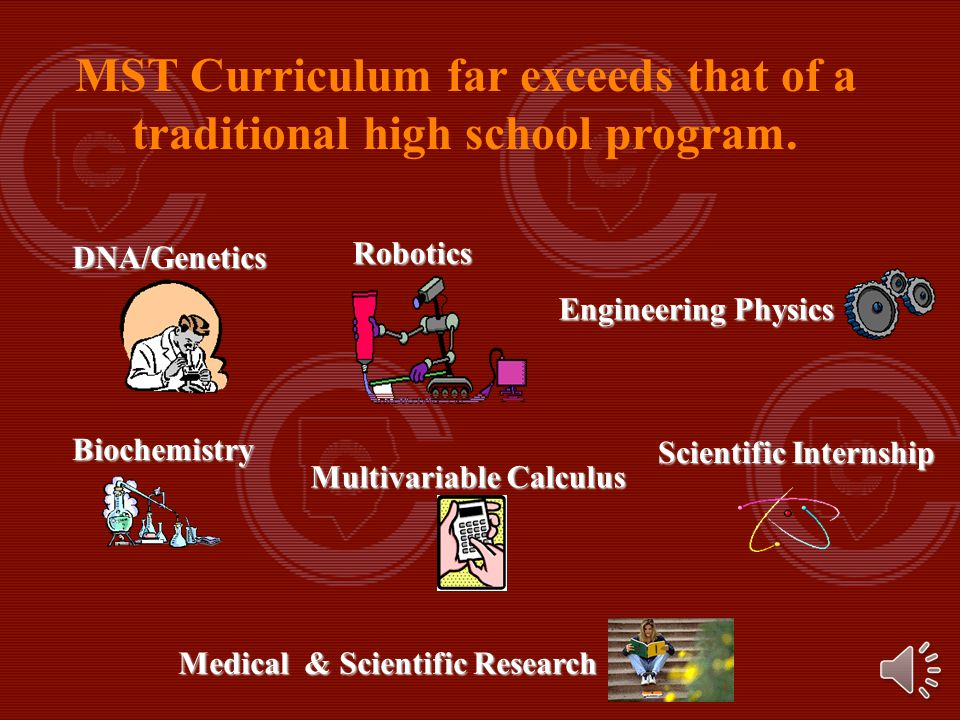 Math, Science & Technology Programs