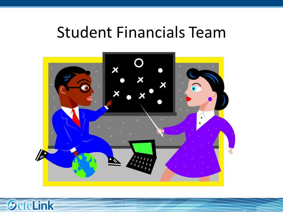 Student Financials Team