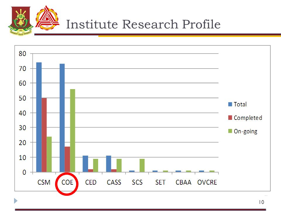 Institute Research Profile 10