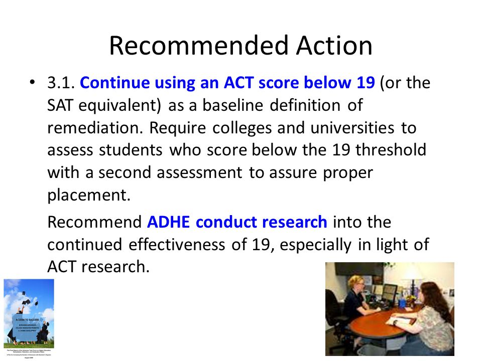 Recommended Action 3.1.