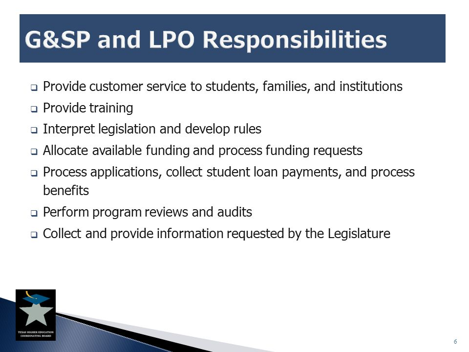  Texas Public Educational Grant (TPEG)  Provide grants to needy students at public institutions  Funded through statutory tuition set-asides o Allocated at the institutional level  Eligibility requirements: o Financial need o Register with Selective Service or be exempt (not required of community colleges)  Awarded based on institution's policies and procedures  Eligibility continuation: o Renewal awards occur at the institution's discretion o No statutory end to student eligibility 27