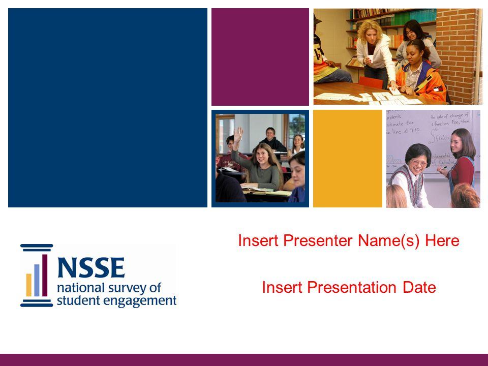 Insert Presenter Name(s) Here Insert Presentation Date