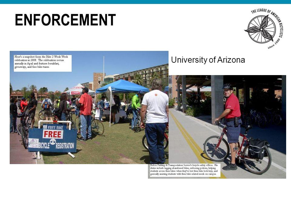ENFORCEMENT University of Arizona