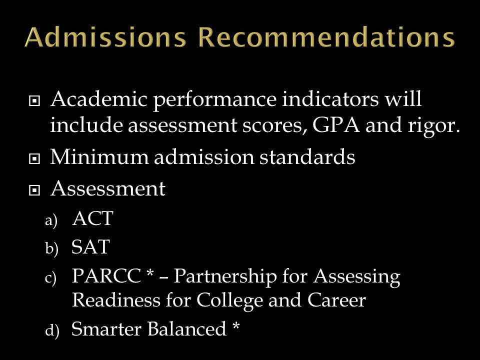  Concurrent Enrollment and Remedial Education  Considered first-time students  Exempt from assessment if their determined program of study would otherwise not require assessment for placement  two-year statutory role and mission may include basic skills credit hours generated by concurrently enrolled students in the 12 th grade in the number claimed for state general fund support.
