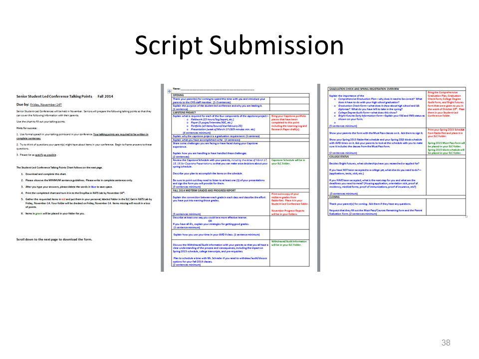 Script Submission 38