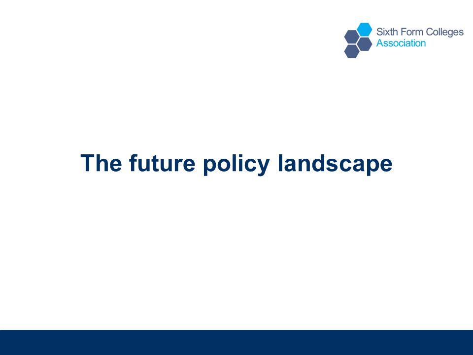 The future policy landscape