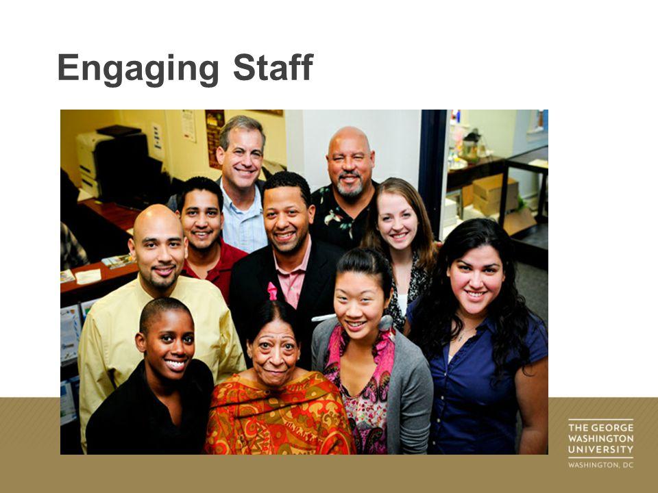 Engaging Staff
