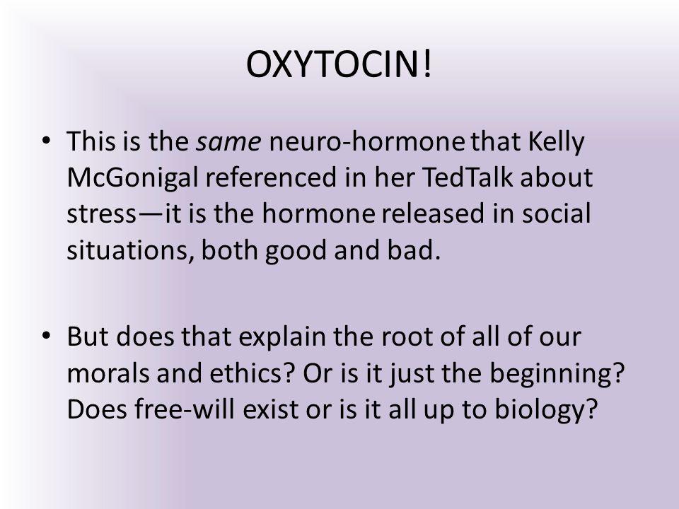 OXYTOCIN.