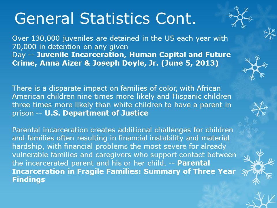 General Statistics Cont.