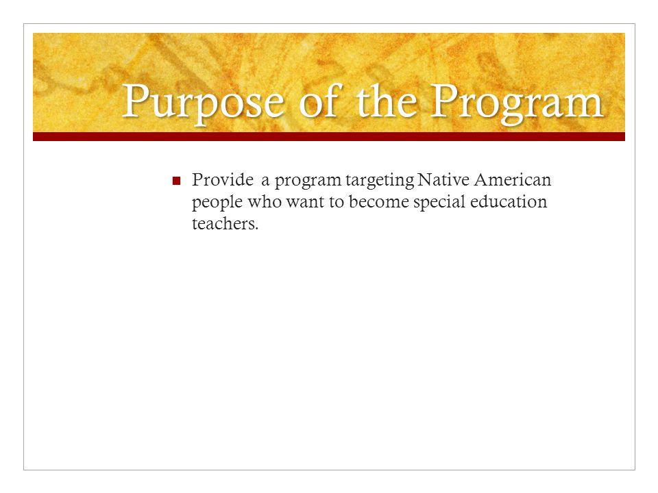 Development of the Program 2006/07 & 2007/08 – MN Dept.