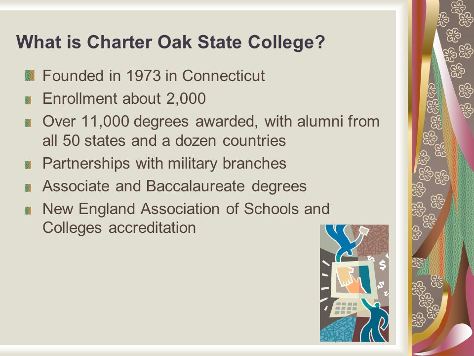 What is Charter Oak State College.