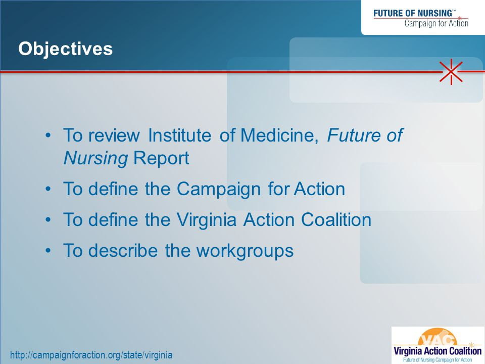 http://campaignforaction.org/state/virginia Workgroups Virginia Action Coalition