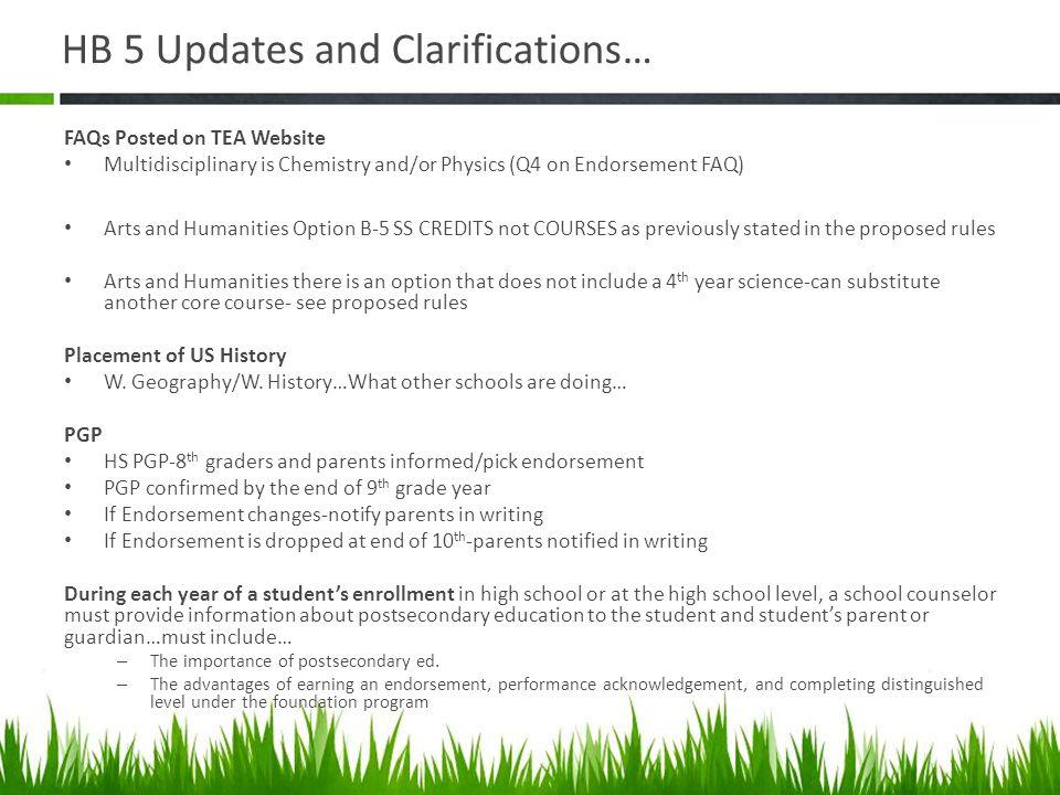 Cluster Endorsement Worksheet for CTE Courses