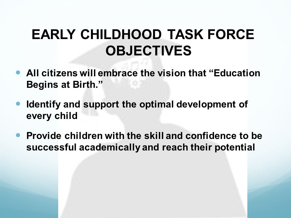 Goal 1: All Children will enter school with readiness skills necessary to be successful learners.
