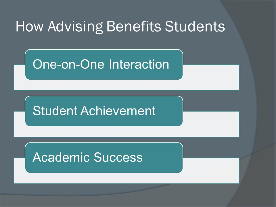 Advising Services Primary Providers PROGRAM DIRECTORS INSTITUTIONAL SUPPORTERS ADVISING SERVICES EFFECTIVE ADVISING DEPARTMENTS FACULTY ADMINISTRATORS AND STAFF