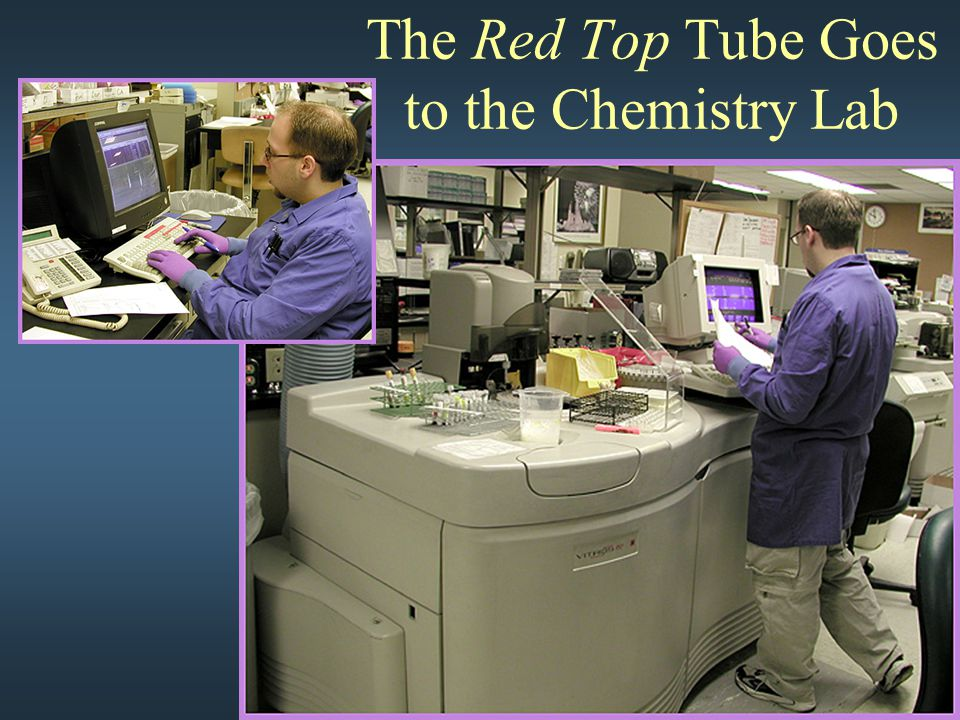 The Red Top Tube Goes to the Chemistry Lab