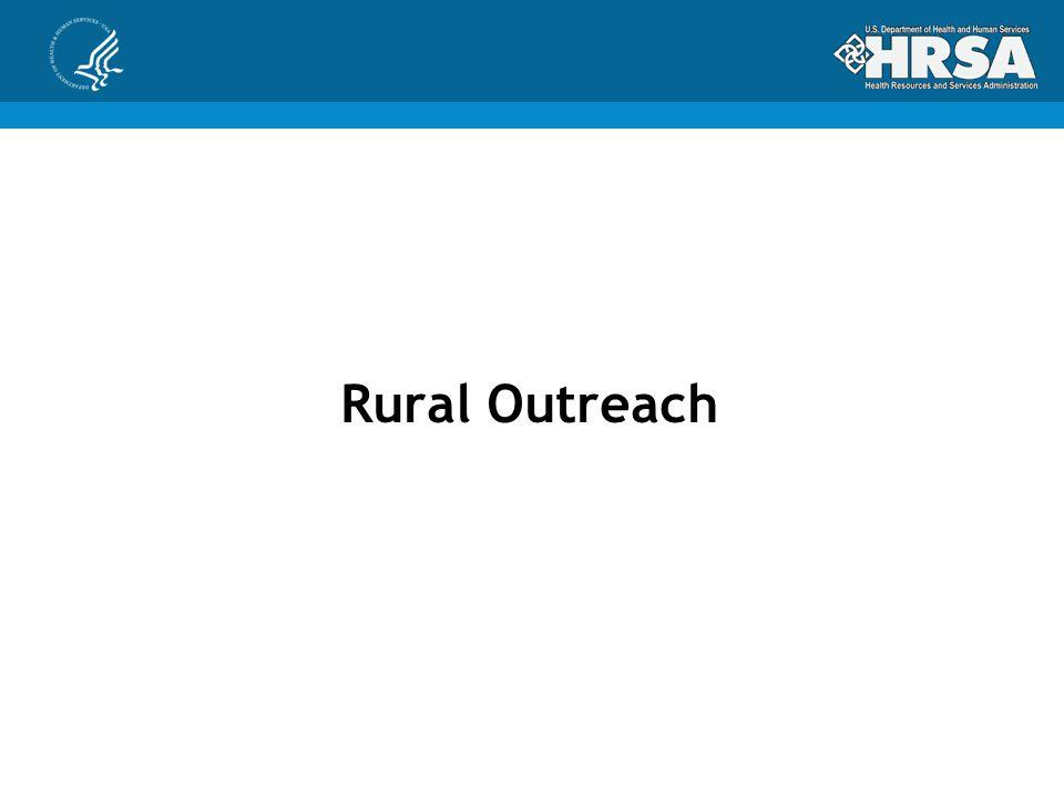 Rural Outreach