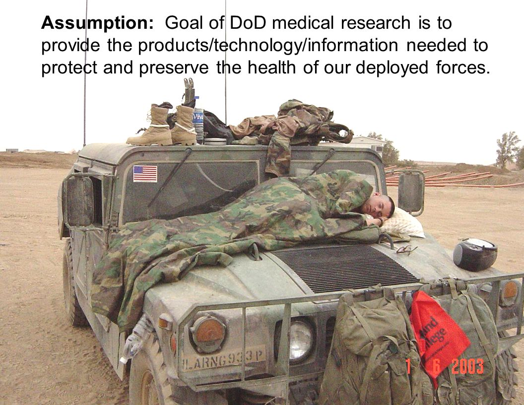 USAMRMC – Protect the Warrior, Sustain the Force Product Development Tech Base Laboratory WRAIR Institute of Surgical Research (ISR) Institute Envrnmntl Med (USARIEM) Aeromedical Research Lab (USAARL) USAMRIID Institute of Chemical Defense (ICD) Advanced Developer U.S.