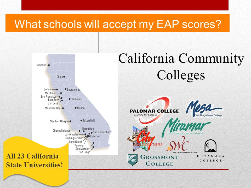 Request duplicate copy of EAP score report Send email to rvillafa@mail.sdsu.edu eapsdsu@gmail.com Required information: First and Last name Date of Birth High school