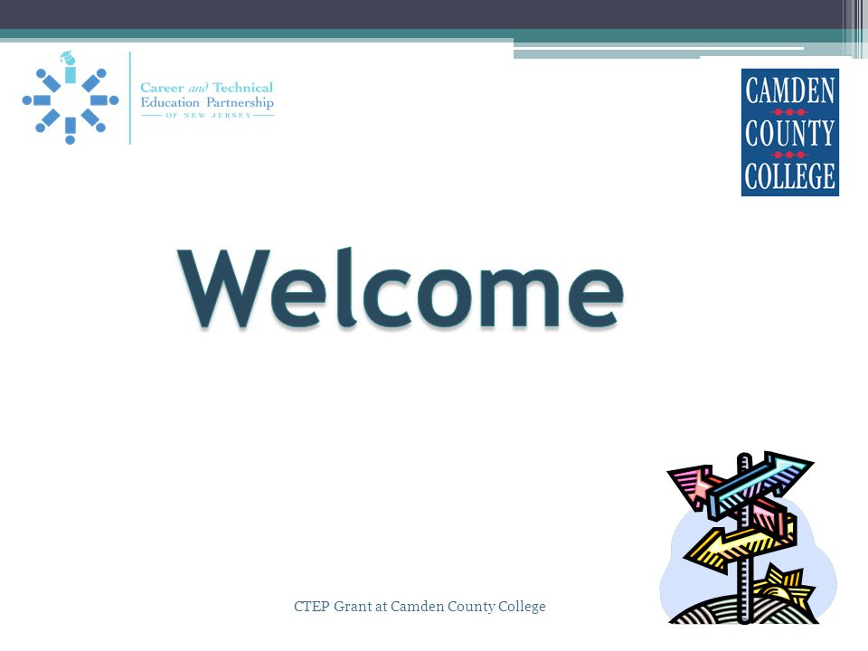 CTEP Grant at Camden County College