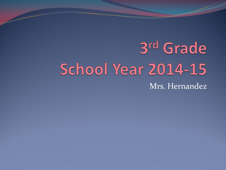 Mrs. Hernandez