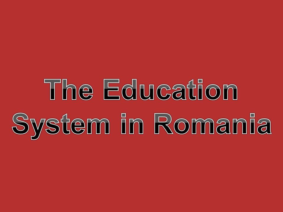 In Romania, education and training are based on the following main principles: Education is a national priority; School must promote a democratic, open and humanistic education; The education system should offer equal opportunities for all citizens; Education provided by state institutions is free of charge; Members of ethnic minorities can learn in their mother tongue.