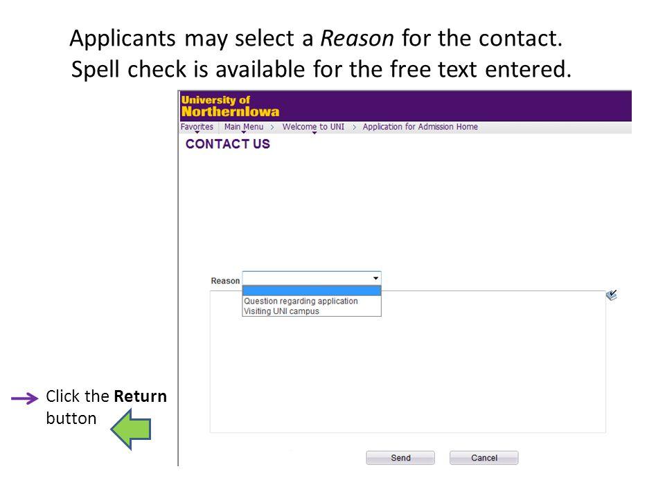 Step 10: Address Information Current & Permanent Mailing Addresses are entered here.