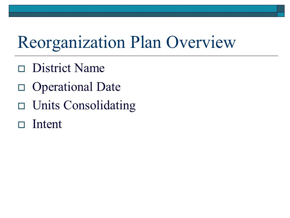 Reorganization Plan Overview  RPC/Transition Committee Meetings RPC Transition Sept.