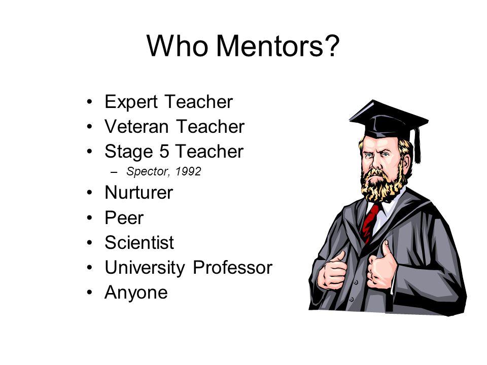 Who Mentors.