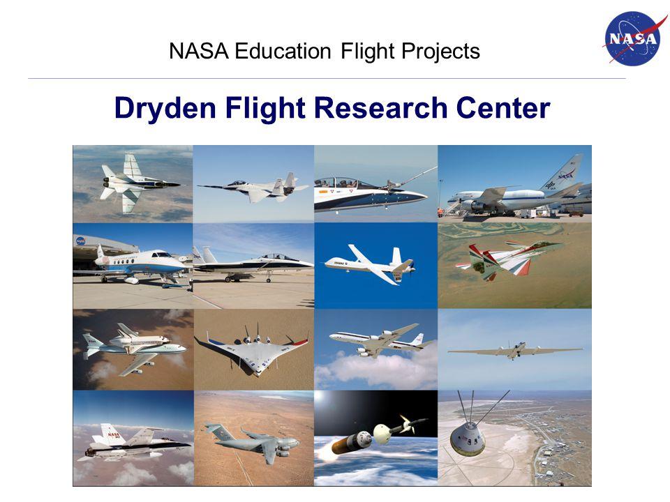 Dryden Flight Research Center NASA Education Flight Projects