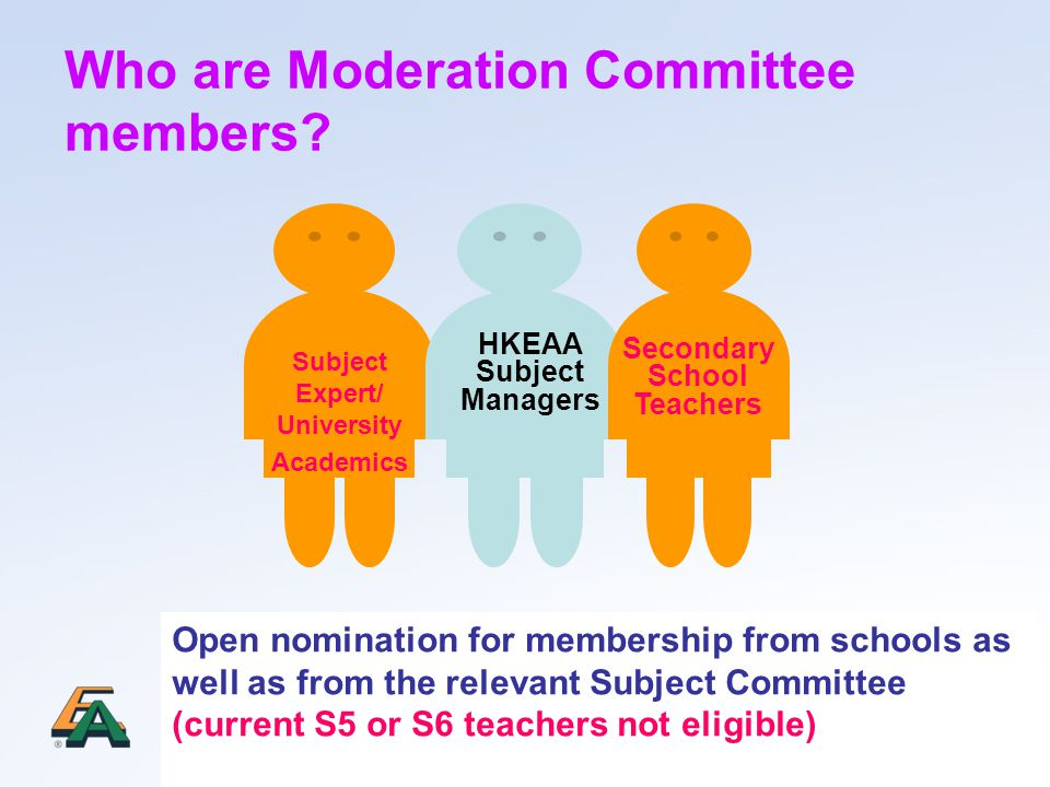 Who are Moderation Committee members.