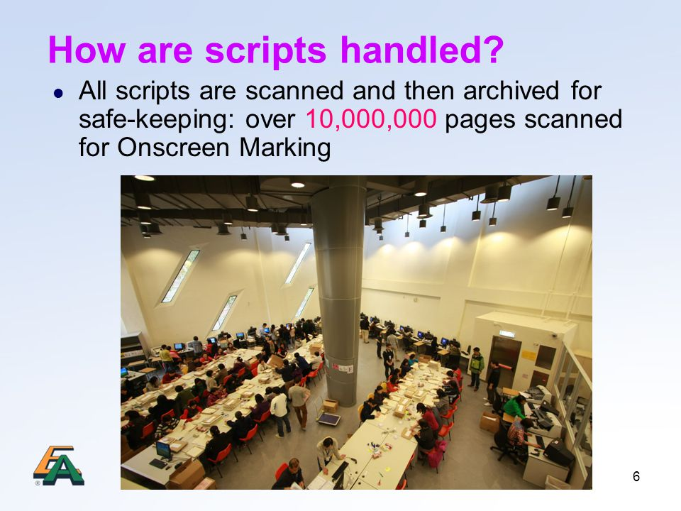 6 How are scripts handled.
