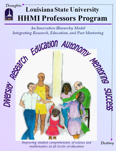 Thoughts Louisiana State University HHMI Professors Program Destiny Improving student comprehension of science and mathematics at all levels of educat