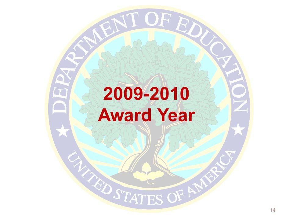 2009-2010 Award Year 14