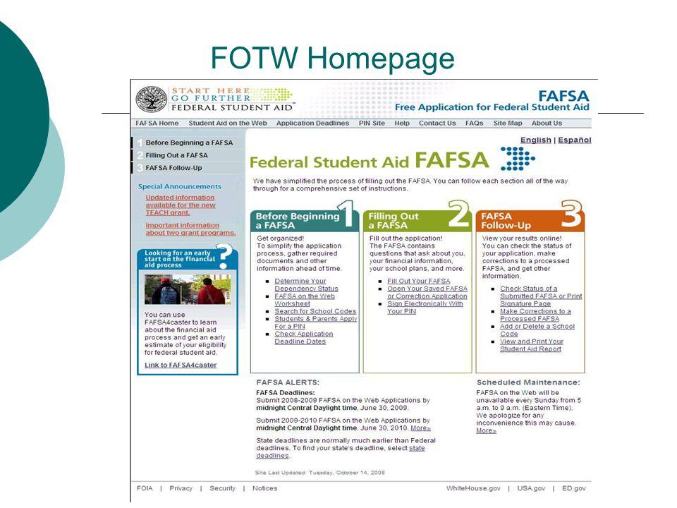 FOTW Homepage