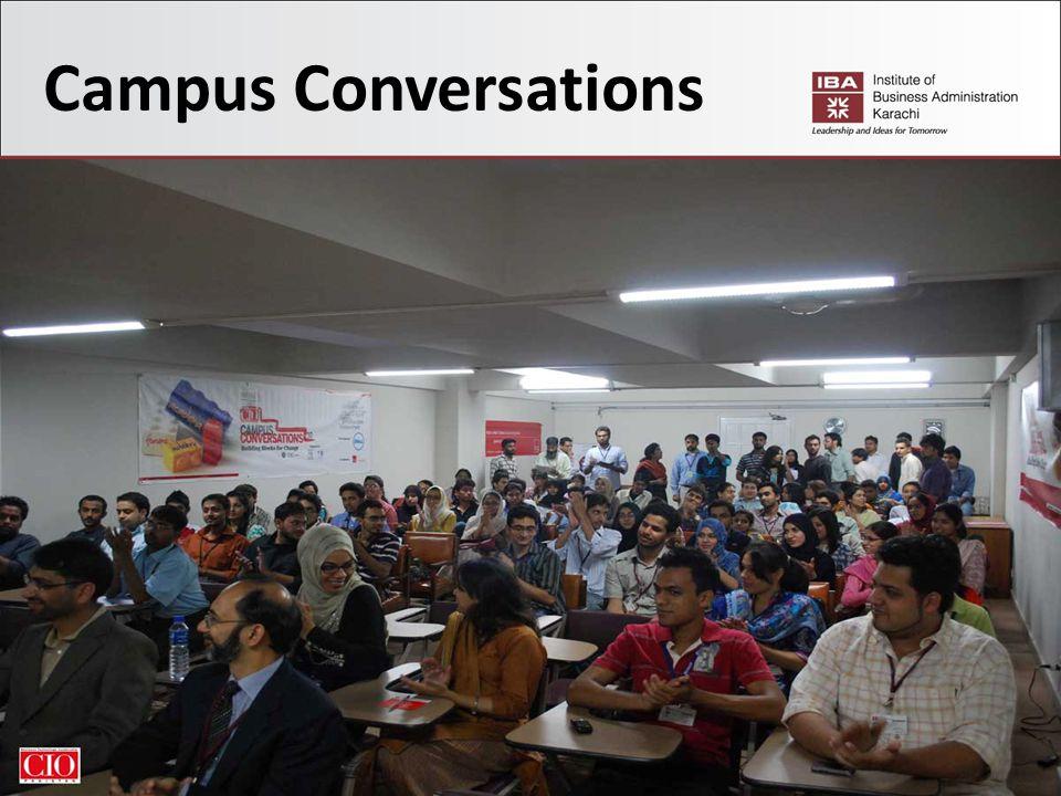35 Campus Conversations