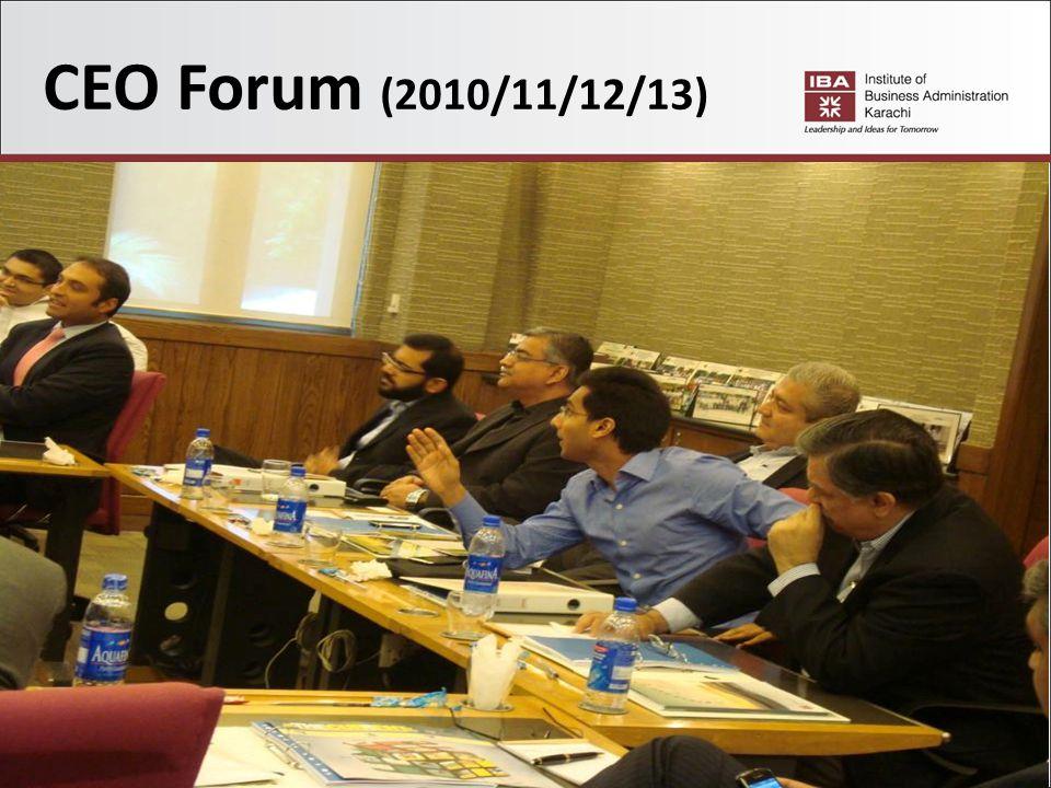 36 CEO Forum (2010/11/12/13)