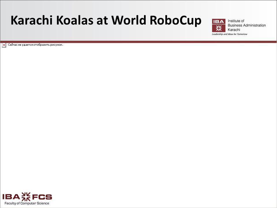 Karachi Koalas at World RoboCup