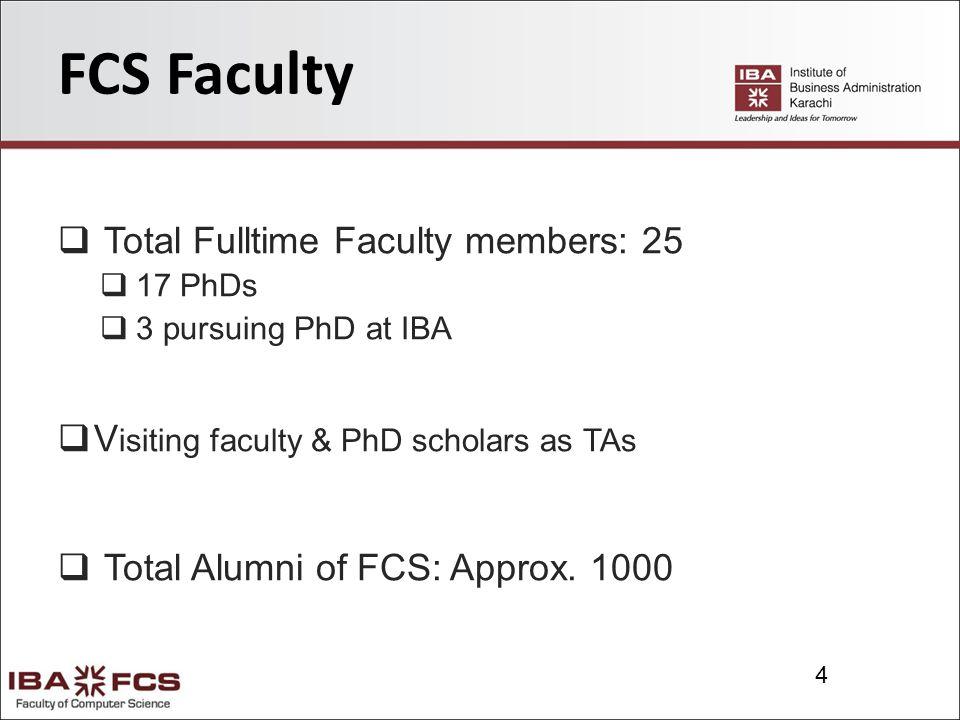 15 CS Faculty Imran Khan Assistant Professor PhD Candidate at IBA MSCS (SZABIST) MCS (KU) OCA (USA) Teaching & Research Interests: System Architecture