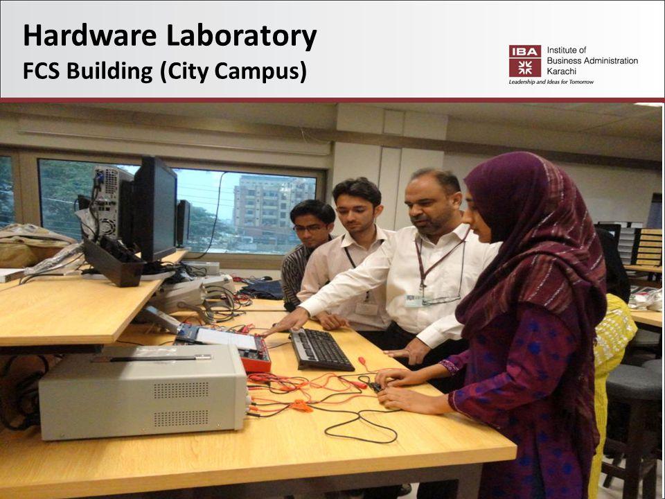 Hardware Laboratory FCS Building (City Campus)
