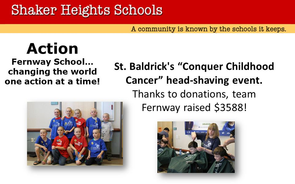 St. Baldrick s Conquer Childhood Cancer head-shaving event.