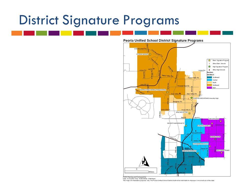 District Signature Programs