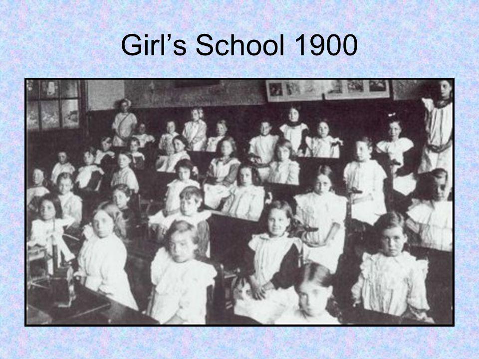 Girl's School 1900