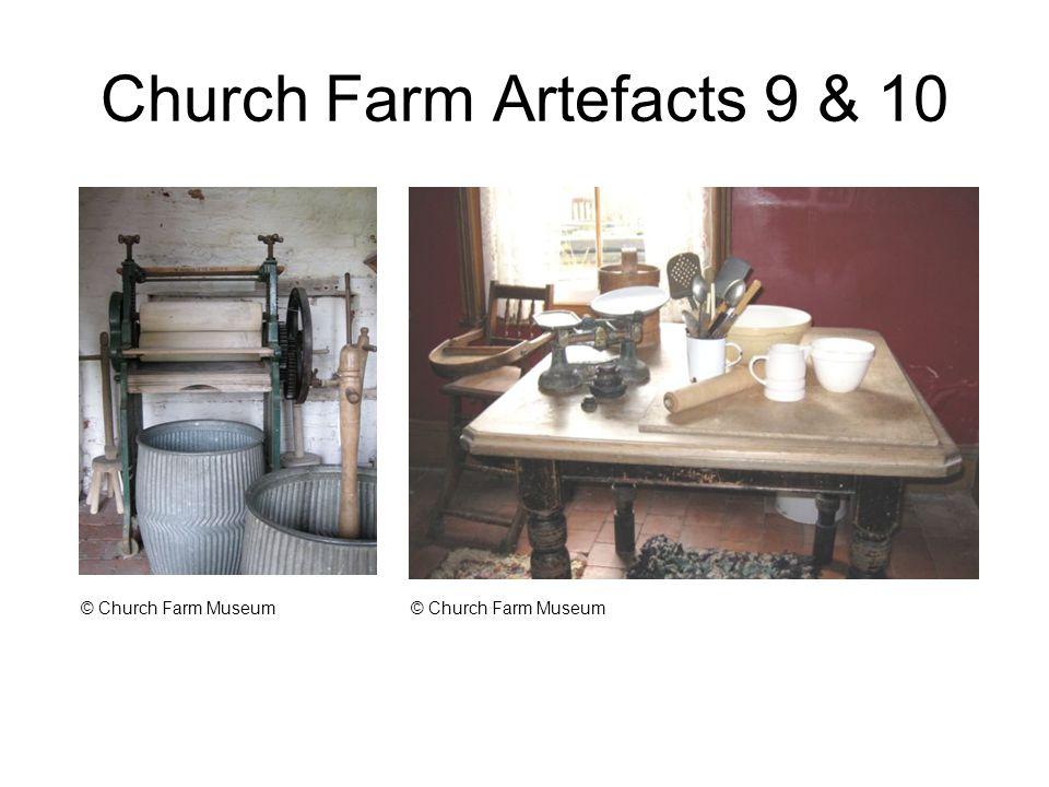 Church Farm Artefacts 9 & 10 © Church Farm Museum