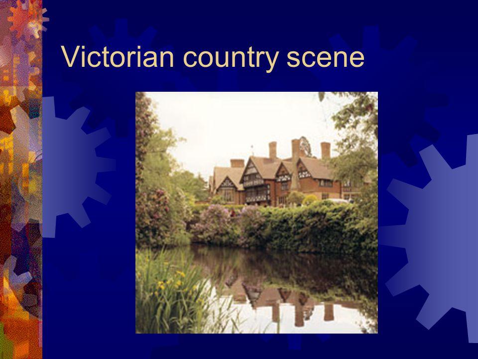 Victorian country scene