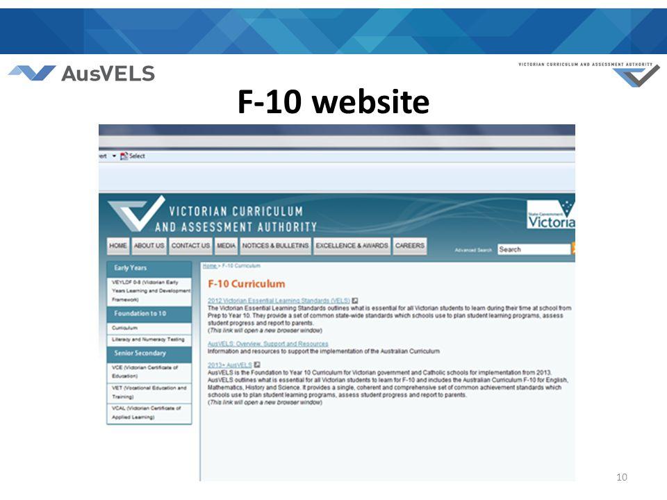 F-10 website 10