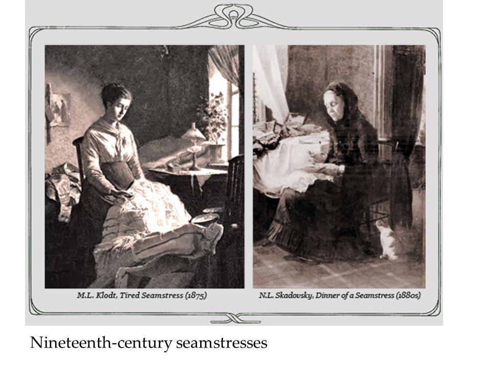 Nineteenth-century seamstresses