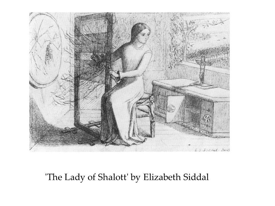 The Lady of Shalott by Elizabeth Siddal
